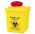 Bio Hazard sharps box