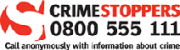 For more information see Crime Stoppers Logo