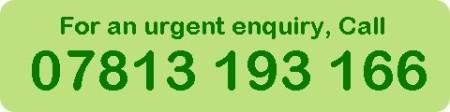 Urgent enquiry