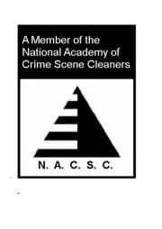 National Academy of Crime Scene Cleaners Liverpool